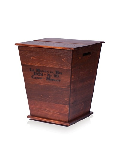 2 Day Designs Vineyard Cart End Table