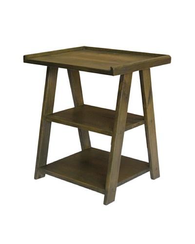 2 Day Designs Ladder Side Table, Fern