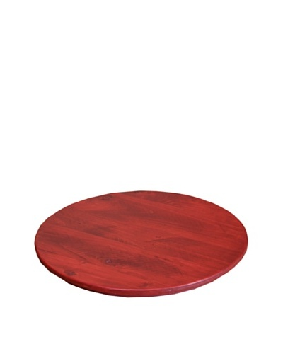 2 Day Designs Lazy Susan, Rouge