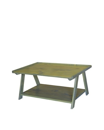 2 Day Designs Ladder Cocktail Table, Fern