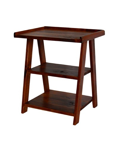 2 Day Designs Ladder Side Table, Pine