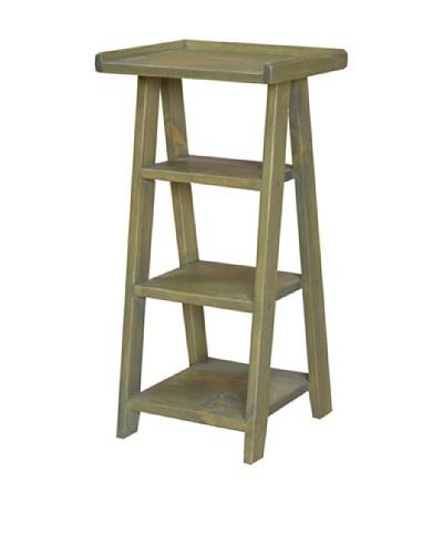 2 Day Designs Ladder Telephone Table, Fern