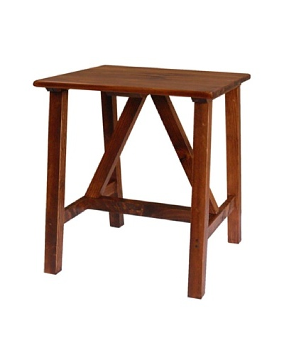 2 Day Designs Pine Creek End Table, Pine