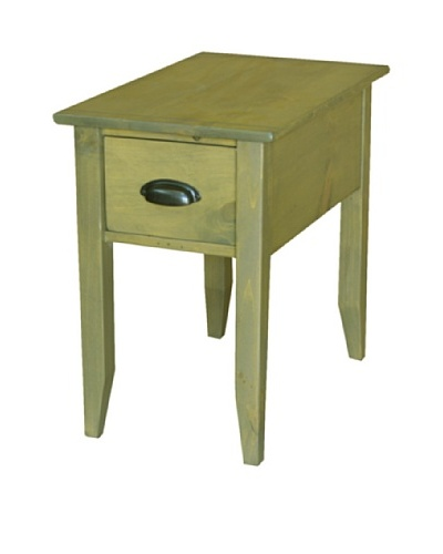 2 Day Designs Jefferson Side Table, Fern