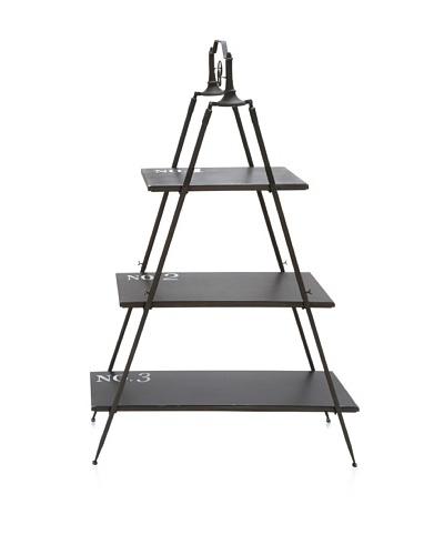 UMA Metal/Wood Shelf, Natural