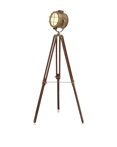 UMA Industrial Chic Standing Studio Light, Aged Bronze