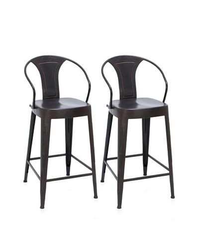 UMA Metal Bar Chair, Black