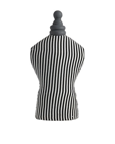 A&B Home Striped Tabletop Mannequin