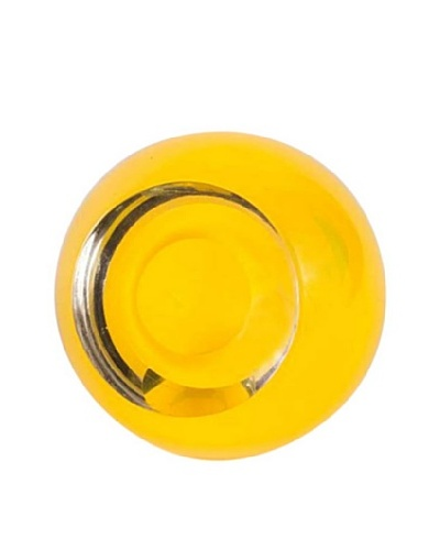 Abby Modell Medium Pod Vase, Yellow