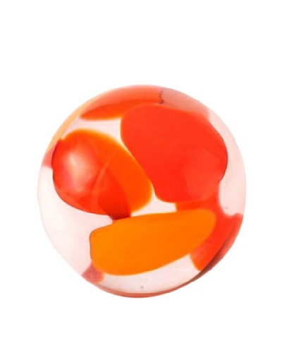 Abby Modell Small Paper Weight, Orange SwirlAs You See