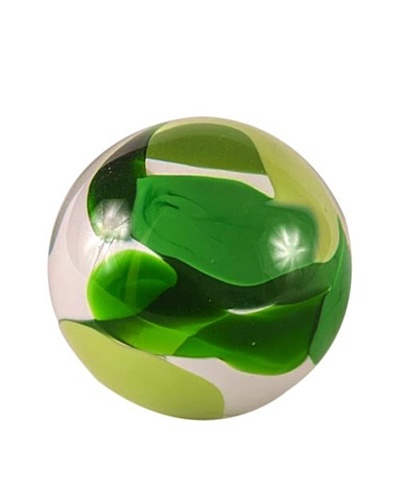 Abby Modell Small Paper Weight, Field Green SwirlAs You See