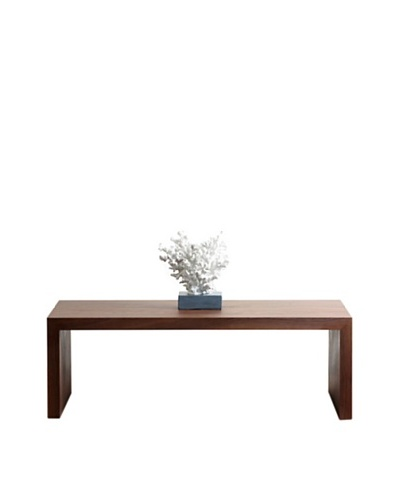Abbyson Living Jouana Walnut Medium Coffee Table, Oak