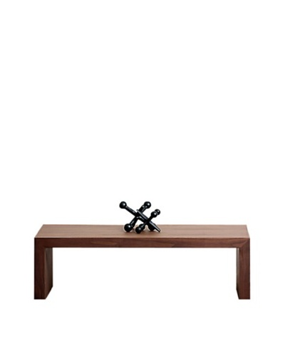 Abbyson Living Jonesy Walnut Small Coffee Table, Oak