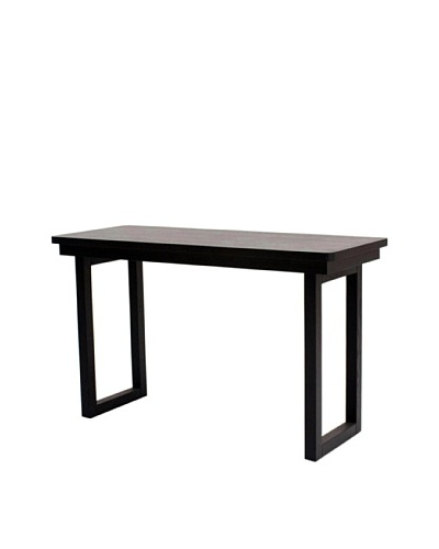 Abbyson Living Haven Sofa Table, Espresso