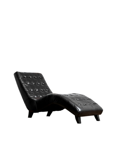 Abbyson Living Southport Bonded Leather Lounger