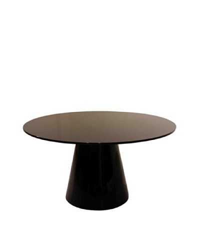 Abbyson Living Mariana Round Dining Table, Espresso