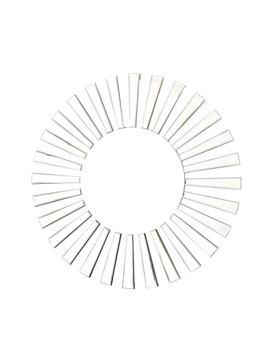 Abbyson Living Utopia Round Wall Mirror