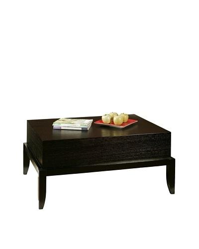 Abbyson Living Heritage Espresso Rectangle Coffee Table