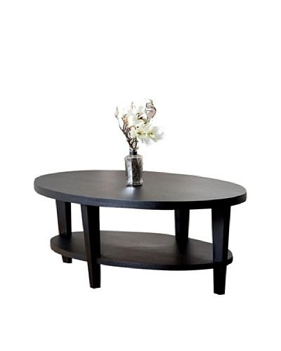 Abbyson Living Forginiah Oak Finish Coffee Table