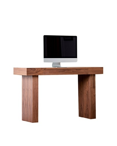 Abbyson Living Karla-Lee Desk, Walnut