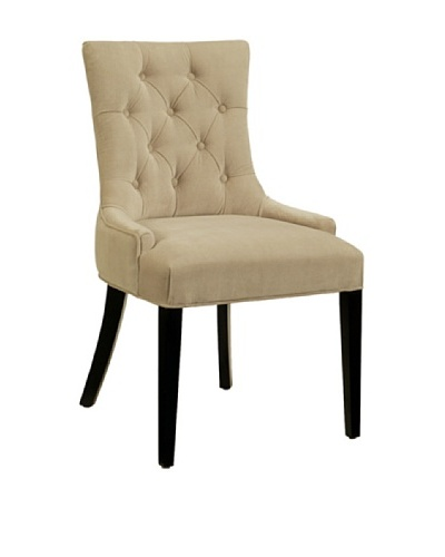 Abbyson Living Franklin Microsuede Tufted Dining Chair