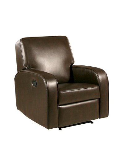 Abbyson Living Dinah-Lee Bonded Leather Recliner
