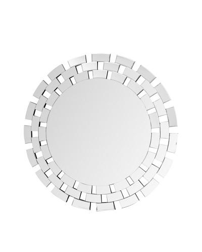 Abbyson Living Zen Round Wall Mirror