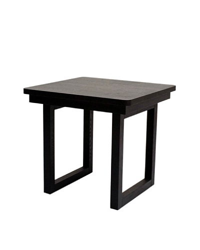 Abbyson Living Kovila End Table, Espresso
