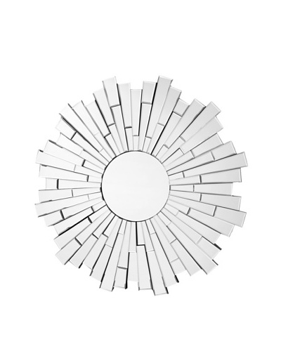 Abbyson Living London Round Wall Mirror