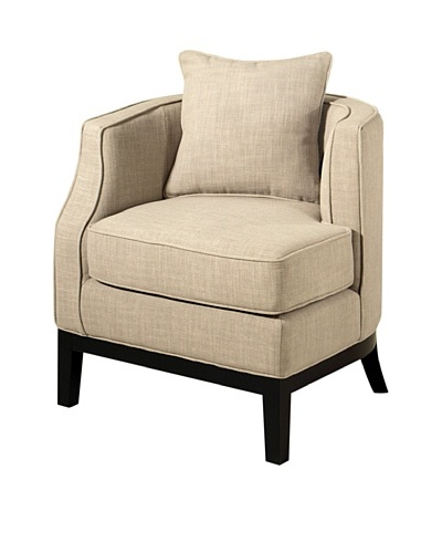 Abbyson Living Eve Corner Chair, Beige