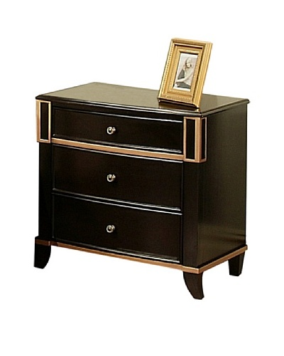 Abbyson Living Abbyson Living Soho 3 Drawer Nightstand
