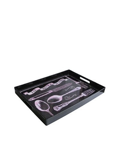 Accents by Jay Rectangle Tray with Handles, Spoonful of Life
