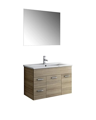ACF by Nameeks Lor01-Lc Vanity Set, Larch Canapa