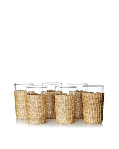 ACME Party Box Set of 6 Seagrass Tumblers
