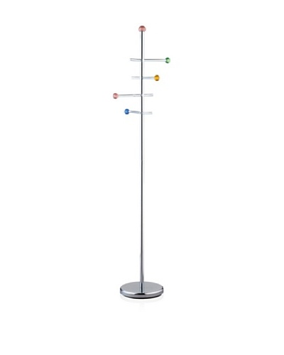 Adesso Marbles Coat Rack, Steel