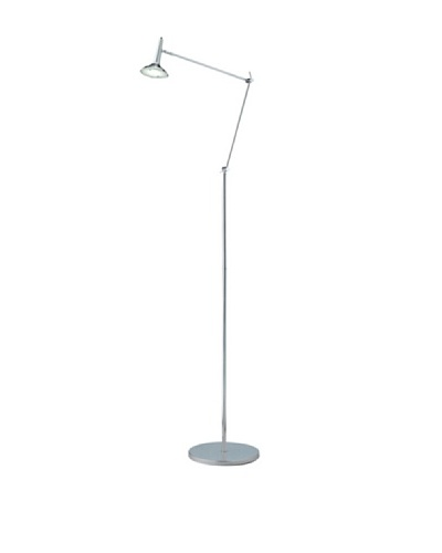Adesso Radar Floor Lamp, ChromeAs You See