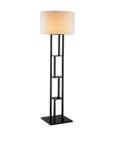 Adesso Rhinebeck Floor Lamp, BlackAs You See