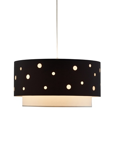 Adesso Starlight Pendant Lamp, Black