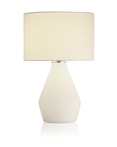 Adesso Elsa Vase Table Lamp [White]