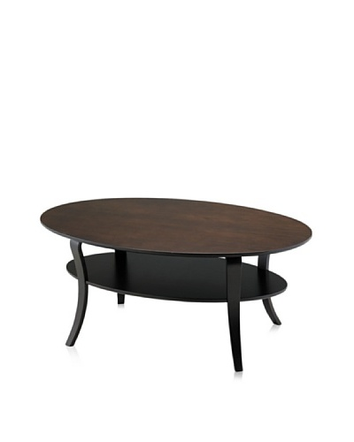 Adesso Montreal Coffee Table, Walnut