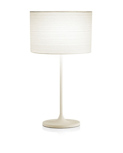 Adesso Oslo Table Lamp, White