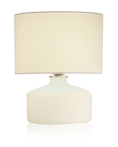 Adesso Elsa Jar Table Lamp [White]