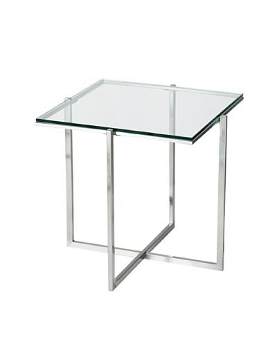 Adesso Glacier End Table [Steel]