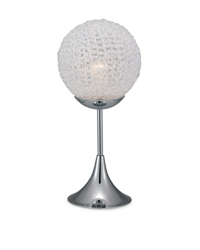 Adesso Frost Table Lamp [Chrome]