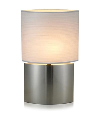 Adesso Sophia Tall Table Lamp [Satin Steel]