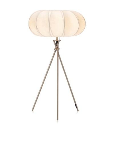 Adesso Cloud Table Lamp, Satin Steel