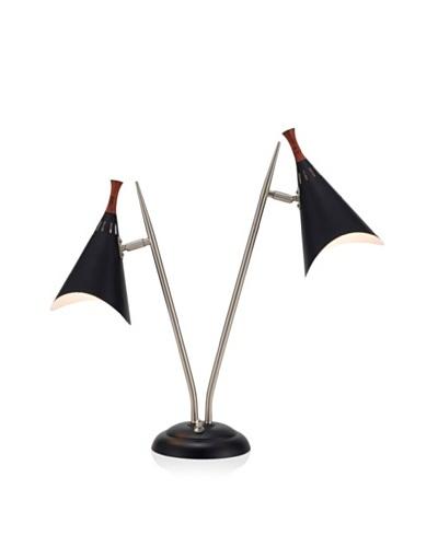 Adesso Draper Desk Lamp, Matte Black
