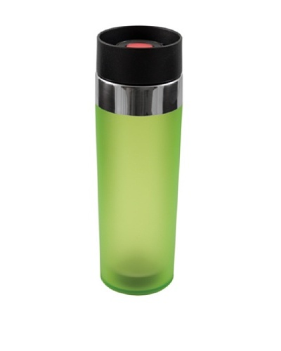 AdNArt Mezzo Acrylic Tumbler with Drink-from-Anywhere Spout [Lime]
