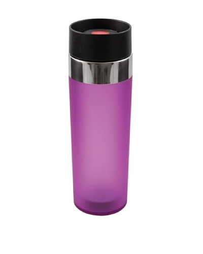 AdNArt Mezzo Acrylic Tumbler with Drink-from-Anywhere Spout [Purple]