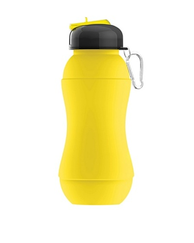 AdNArt Sili-Squeeze Collapsible Silicone Hydra Bottle with Sport Lid